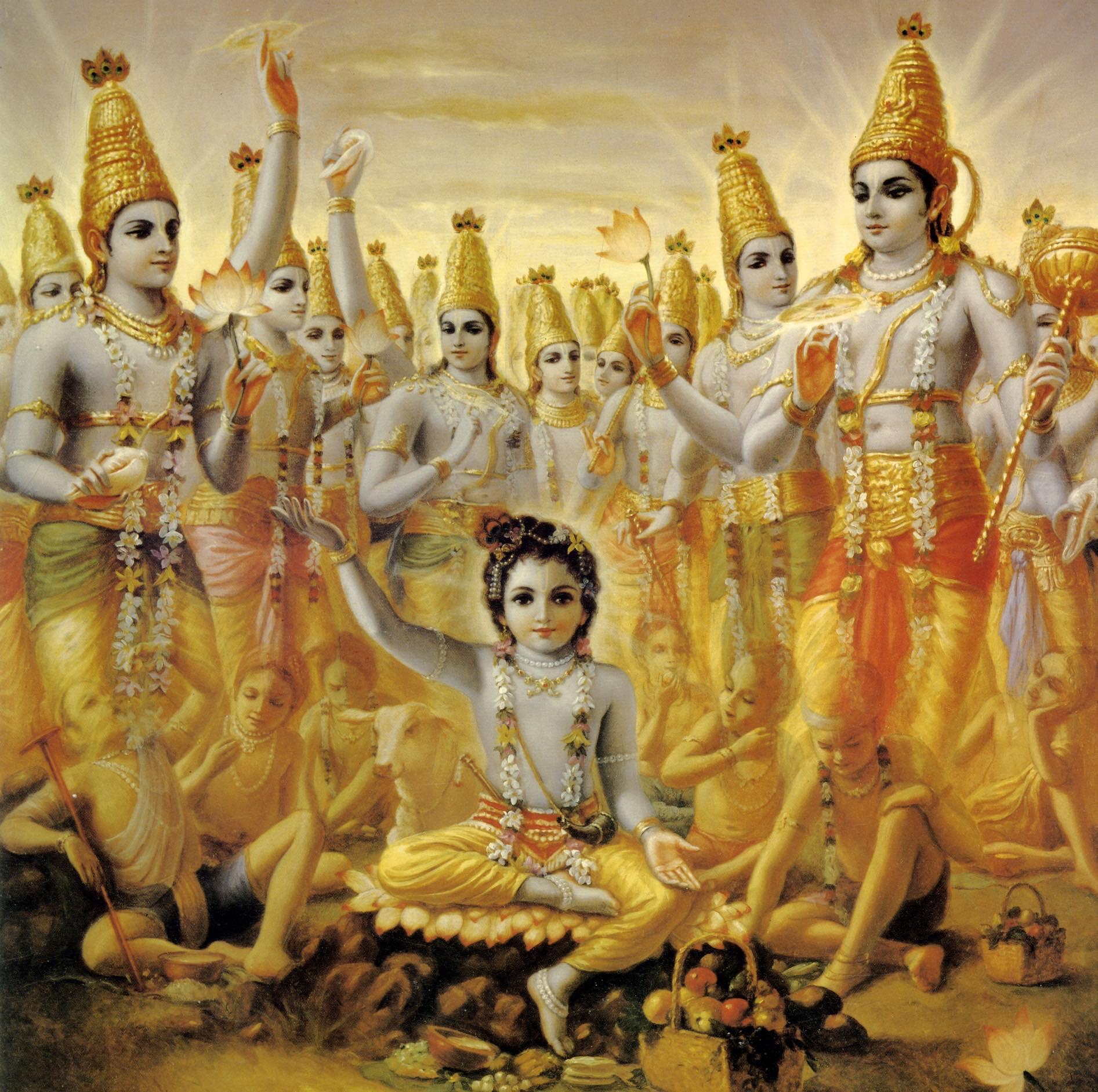 Malminkylän kartano, Krishna temppeli